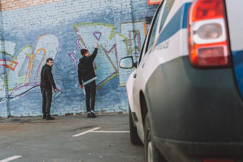 graffiti removal and vandalism cleanup
